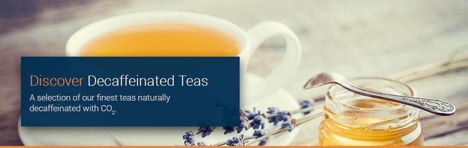 Discover Decaffeinated Tea Pyramids