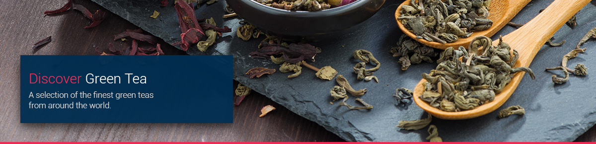 Discover Green Teas from around the world