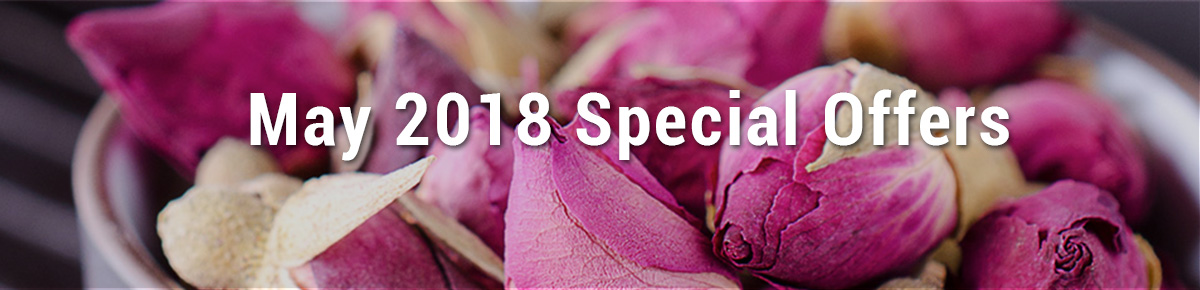 May 2018 Special Ofers